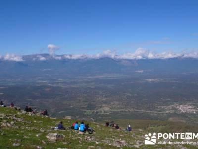 Castañar de la Sierra de San Vicente - Convento del Piélago;rutas senderismo guadarrama;equipo par